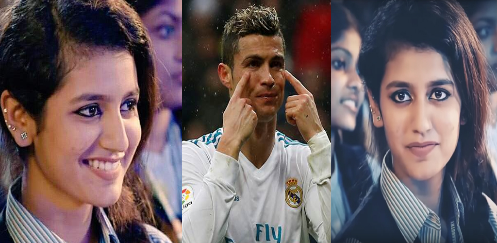 Photo of Priya Prakash Varrier Gestures Hurt Ronaldo, in 24 Hours, Celebrities From all Over the World are Shocked