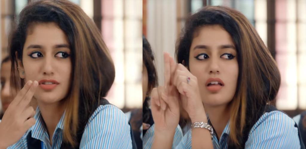 Priya Prakash Gun Lips