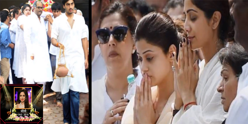 Photo of How will Sridevi last journey, this will be done by husband and step-father Arjun Kapoor