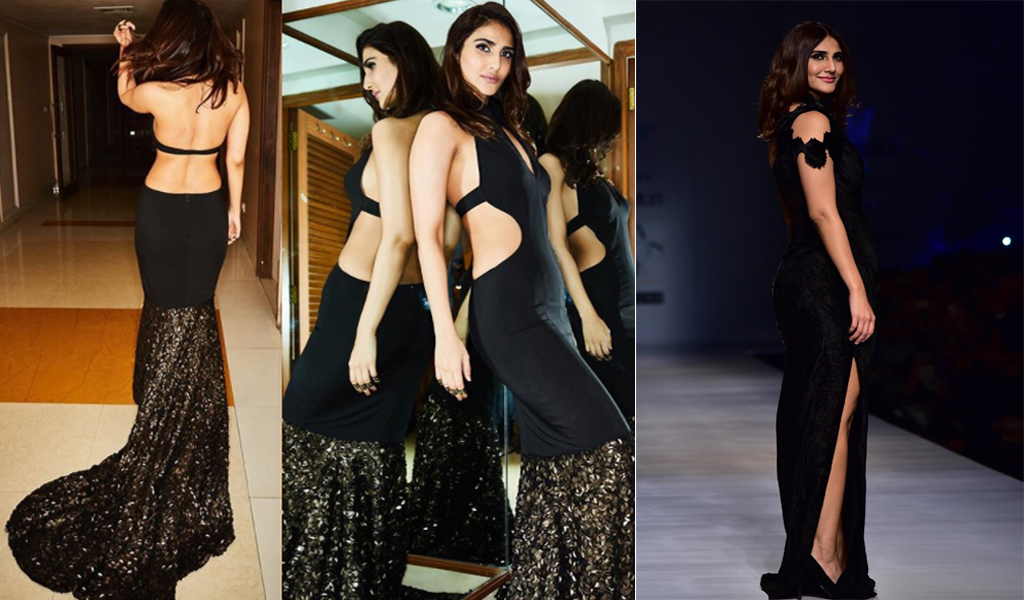 Photo of Vaani Kapoor in a midnight black gown is the ideal diversion to the Super BlueBlood Moon – see picture