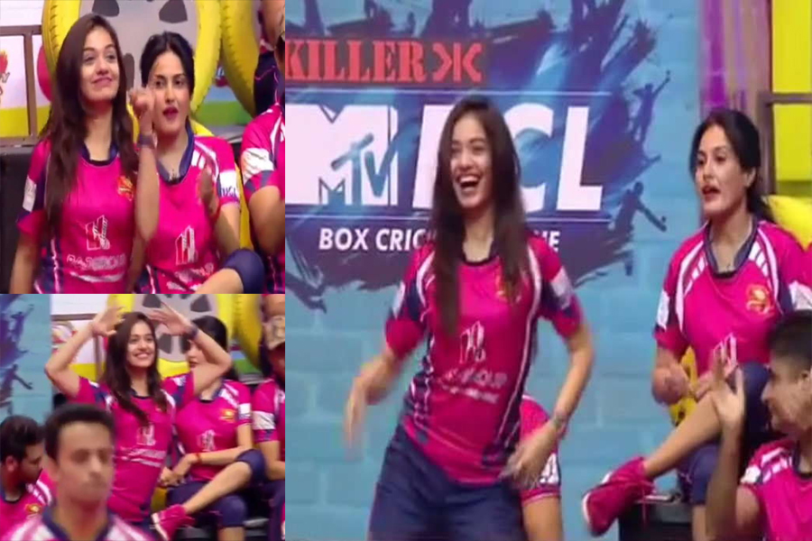 Photo of TV Actress Divya Agarwal Viral Dance Video, Box Cricket League