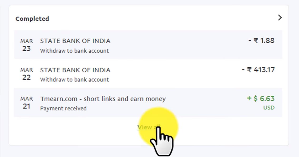 Tmearn App   Online Free Earn Money With Shorten Link