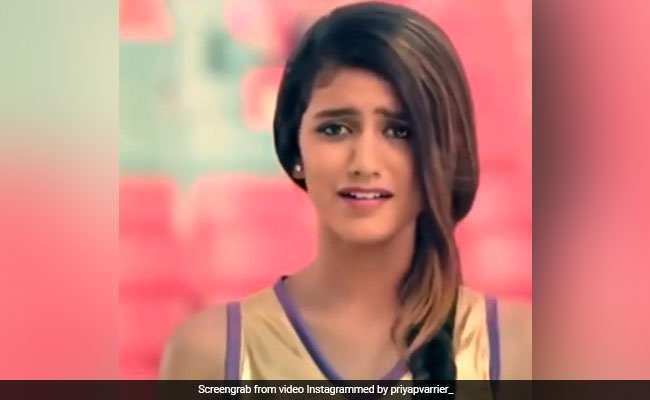 Photo of Priya Prakash Varrier: Attitude Shows on Internet. Video Viral
