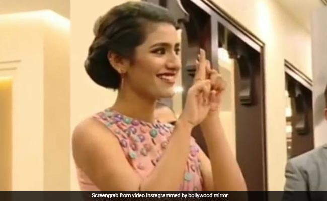 Photo of Priya Prakash Varrier again talks about how the co-star was seen in Video…