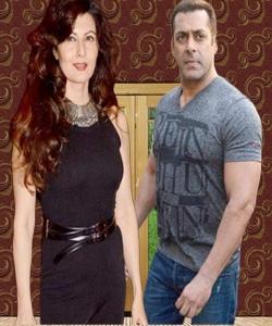 Sangeeta Bijlani wth Salman Khan,