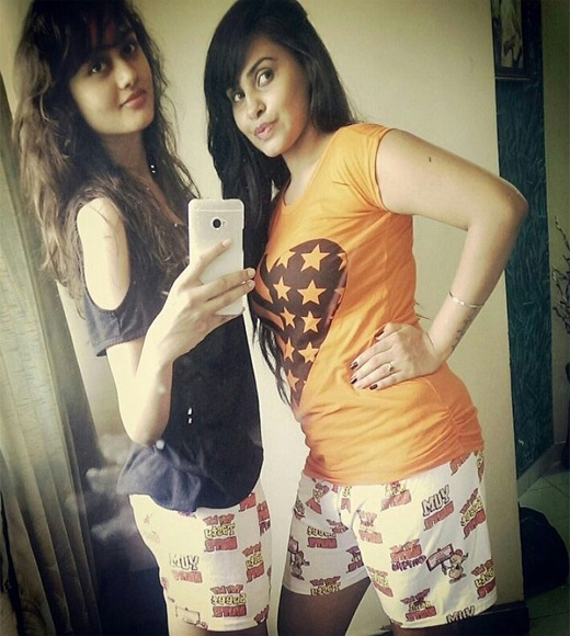 actress janki sister, gujarati actress janki sister,