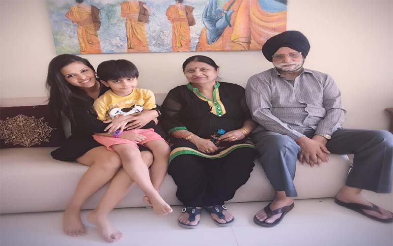 daljeet kaur parents,
