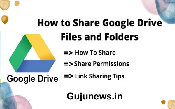 How to Share Google Drive Files and Folders 2021